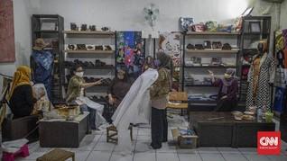 FOTO: Perayaan Hari Batik dan Palagan Perajin Didera Pandemi