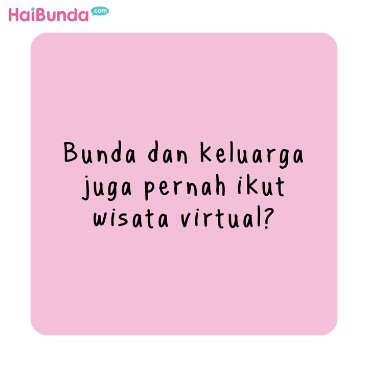 Komik HaiBunda Wisata Virtual