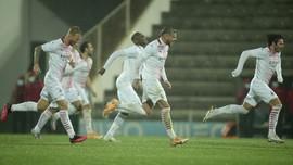 FOTO: Drama Adu Penalti 24 Tendangan Rio Ave vs Milan