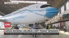 VIDEO: Garuda Indonesia Luncurkan Livery Pesawat Bermasker