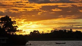 Danau Sentani Surut, Benda Megalitik Tampak dari Permukaan