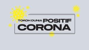Tokoh Dunia yang Positif Corona