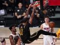 Hasil Final NBA 2020: Lakers Unggul 2-0 atas Heat