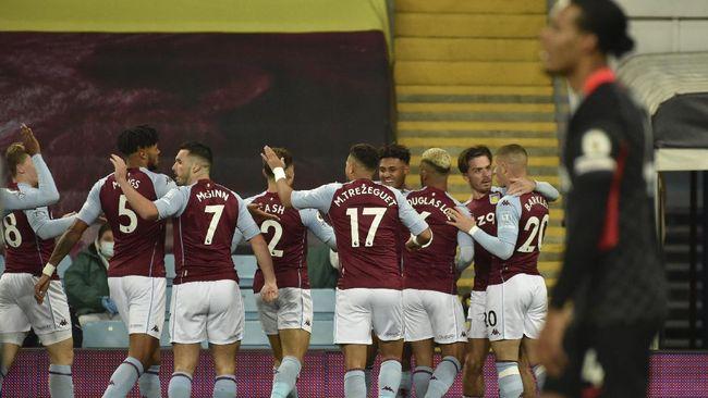 Aston Villa secara mengejutkan sukses memecundangi Liverpool 7-2 pada pekan keempat Liga Inggris yang dimainkan di Villa Park.