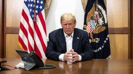 Trump Kembali ke Ruang Oval, Enam Hari Usai Positif Covid-19