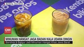 VIDEO: Minuman Hangat Jaga Badan Kala Udara Dingin