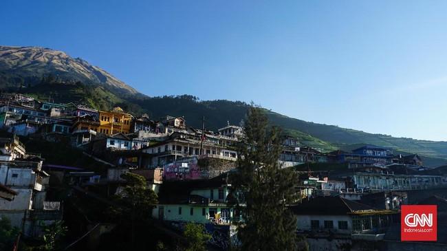 Pemandangan di Dusun Butuh, Kabupaten Magelang, selama ini disebut bak Nepal Van Java.