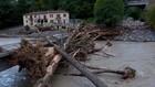 VIDEO: Banjir di Prancis, Jembatan Ambruk, 8 Orang Hilang
