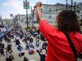 Longmarch ke Istana, Buruh Jakarta Demo Omnibus Law Hari Ini