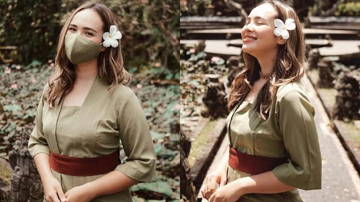 7 Potret Cantik Pamela Bowie Saat Liburan ke Bali