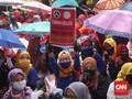 Ribuan Buruh Menyemut di Bandung, Kekecewaan Kian Meluas