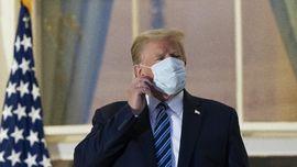 Dokter Kepresidenan Umumkan Trump Bebas Gejala Covid-19