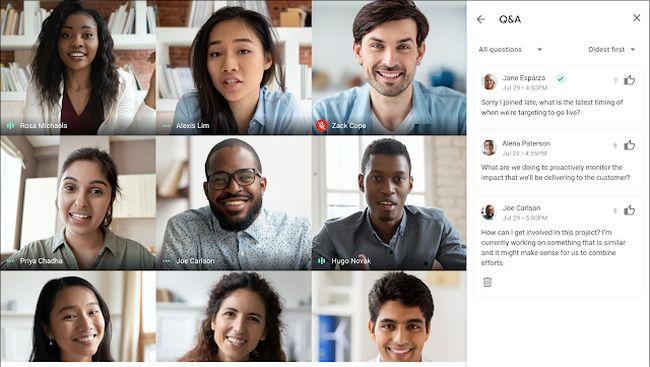 Pengguna Google Meet kini memiliki banyak opsi untuk panggilan video saat rapat.