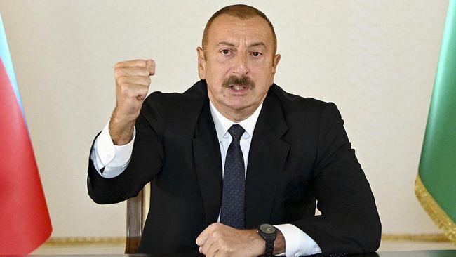 Presiden Azerbaijan Ilham Aliyev meminta Armenia bayar ganti rugi 30 tahun atas kerusakan di wilayah Baku akibat konflik Nagorno-Karabakh.