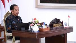 Jokowi Puji Jatim-Sulsel soal Covid, Minta Daerah Lain Contoh
