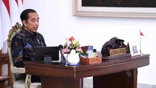 Jokowi Ingin Berantas Korupsi dan Pungli Lewat UU Cipta Kerja