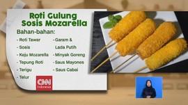 VIDEO: Roti Gulung Sosis Mozarella