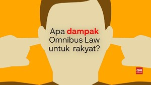 VIDEO: Hak-hak Buruh yang Dihilangkan Omnibus Law Ciptaker