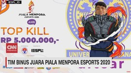 VIDEO: Tim Binus Juara Piala Menpora e-Sports 2020