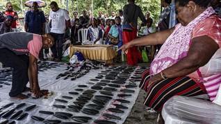 FOTO: Tradisi Kapak Batu Zaman Neolitikum di Tanah Papua