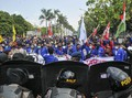 Kemenkes Imbau Massa Taati Prokes Cegah Klaster Demo