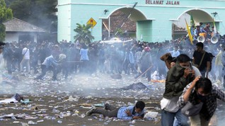 Empat Jurnalis di Lampung Alami Kekerasan Saat Liput Demo