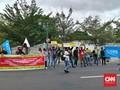 Tolak UU Ciptaker, Mahasiswa Demo di Kantor Sultan Yogya
