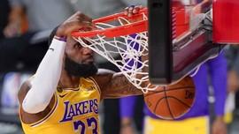 FOTO: Lakers Selangkah Lagi Juara NBA