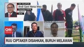 VIDEO: RUU Ciptaker Disahkan, Buruh Melawan