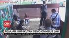 VIDEO: Pelajar Ikut-ikutan Demo Omnibus Law