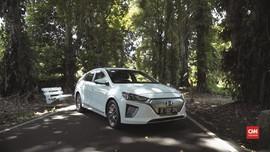 VIDEO: Cicip Mobil Listrik Hyundai Ioniq Sebelum Meluncur