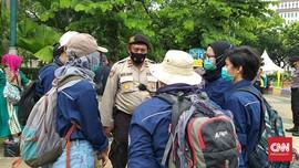 Mahasiswa Mulai Kumpul di Monas Sebelum Geruduk Istana