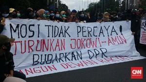 1 Tahun Jokowi-Ma'ruf: Buzzer Tak Efektif, Polisi Dikerahkan