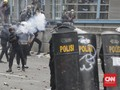 Polisi Bubarkan Massa di Harmoni, Pedemo Kocar-kacir