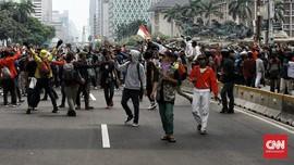 Admin Medsos Ditangkap, Polisi Klaim Pelajar Demo Berkurang