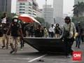 Massa Belum Bisa Dekati Istana, Polisi Sekat Beberapa Titik