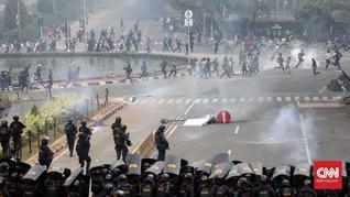 KontraS: Jokowi Wajarkan Tindakan Represif Aparat saat Demo