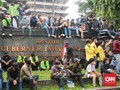 Polisi Tetapkan 4 Mahasiswa di Semarang Tersangka Demo Rusuh