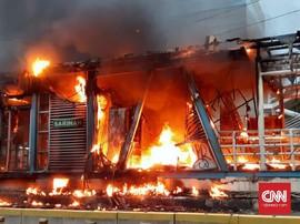 Polisi: Video Narasi TV Jadi Bahan Selidiki Api Halte Sarinah