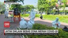 VIDEO: Jatim Diklaim Bebas Zona Merah Covid-19