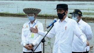 Buka Rakornas Inflasi, Jokowi Ingatkan soal Krisis Pangan