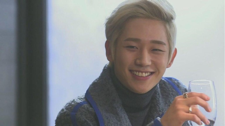 Gaya Rambut Jung Hae In