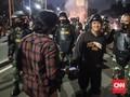 Bentrok dengan Polisi, Massa Akhirnya Pulang usai Dirayu TNI