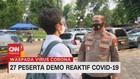 VIDEO: 27 Peserta Demo Reaktif Covid-19