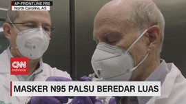 VIDEO: Masker N95 Palsu Beredar Luas