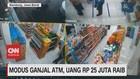 VIDEO: Modus Ganjal ATM, Uang Rp.25 Juta Raib