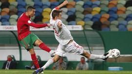 FOTO: Ronaldo Gagal Bobol Spanyol