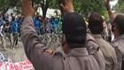 VIDEO: Demonstrasi Menolak Omnibus Law di Palu Ricuh