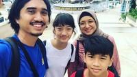 <p>Bima Al Ayman Modjo atau akrab dipanggil Ayman adalah anak bungsu dari pasangan Duta dengan Adelia Lontoh. (Foto: Instagram @pakduta)</p>