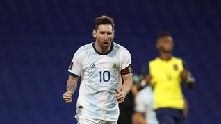 Top Skor Copa America Usai Messi Cetak Gol